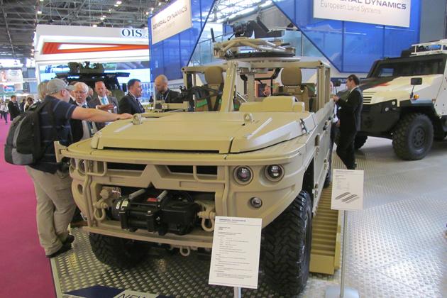 Eurosatory: GDELS releases details of light tactical vehicles