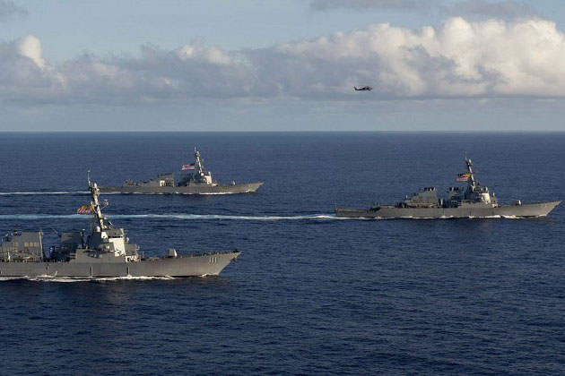 Surface Navy: US Navy distributed lethality concept evolves