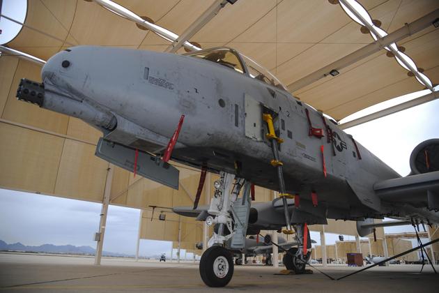 A-10C Thunderbolt IIs get LARS V-12