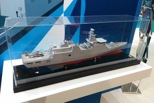 Euronaval 2016: Bulgarian shipbuilder unveils K-90 corvette