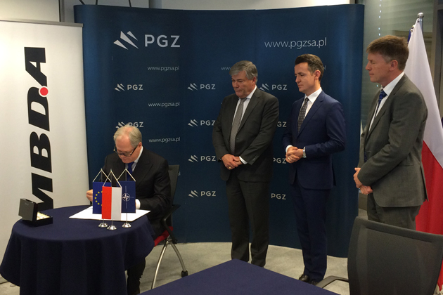 MBDA strengthens Polish ties