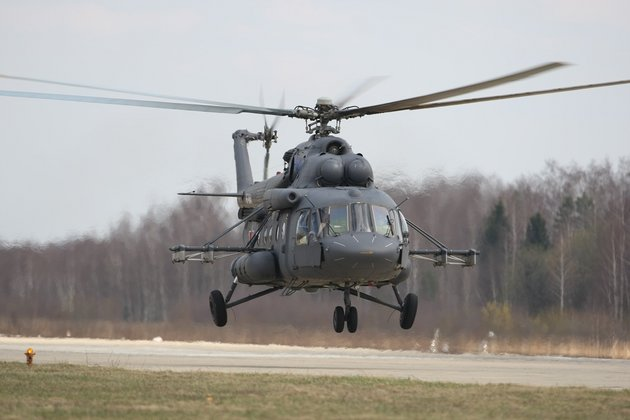 Belarus receives Mi-8MTV-5 helicopters