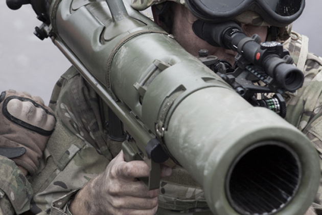 SAAB receives Carl-Gustaf weapon order