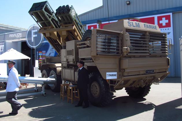 FIDAE: FAMAE offers new rocket artillery
