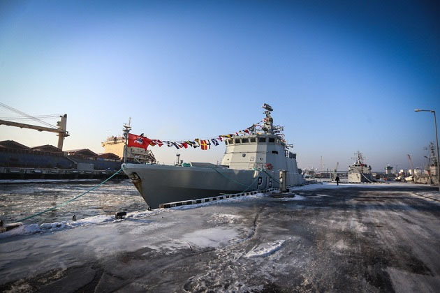 Lithuania commissions former Danish patrol ship