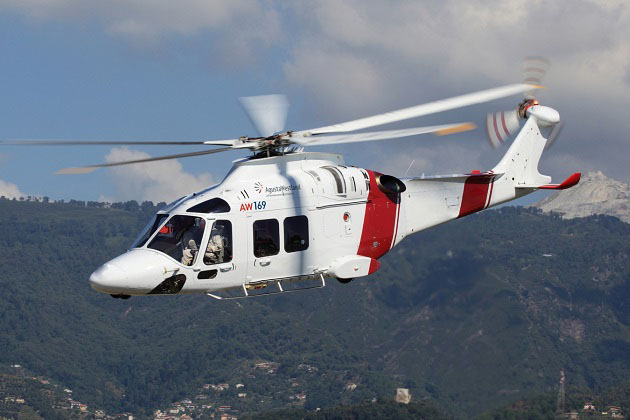Helitech 2016: AW169 front and centre