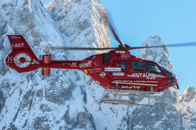 Upgraded EC135 T3/P3 helicopter enters service in Italy
