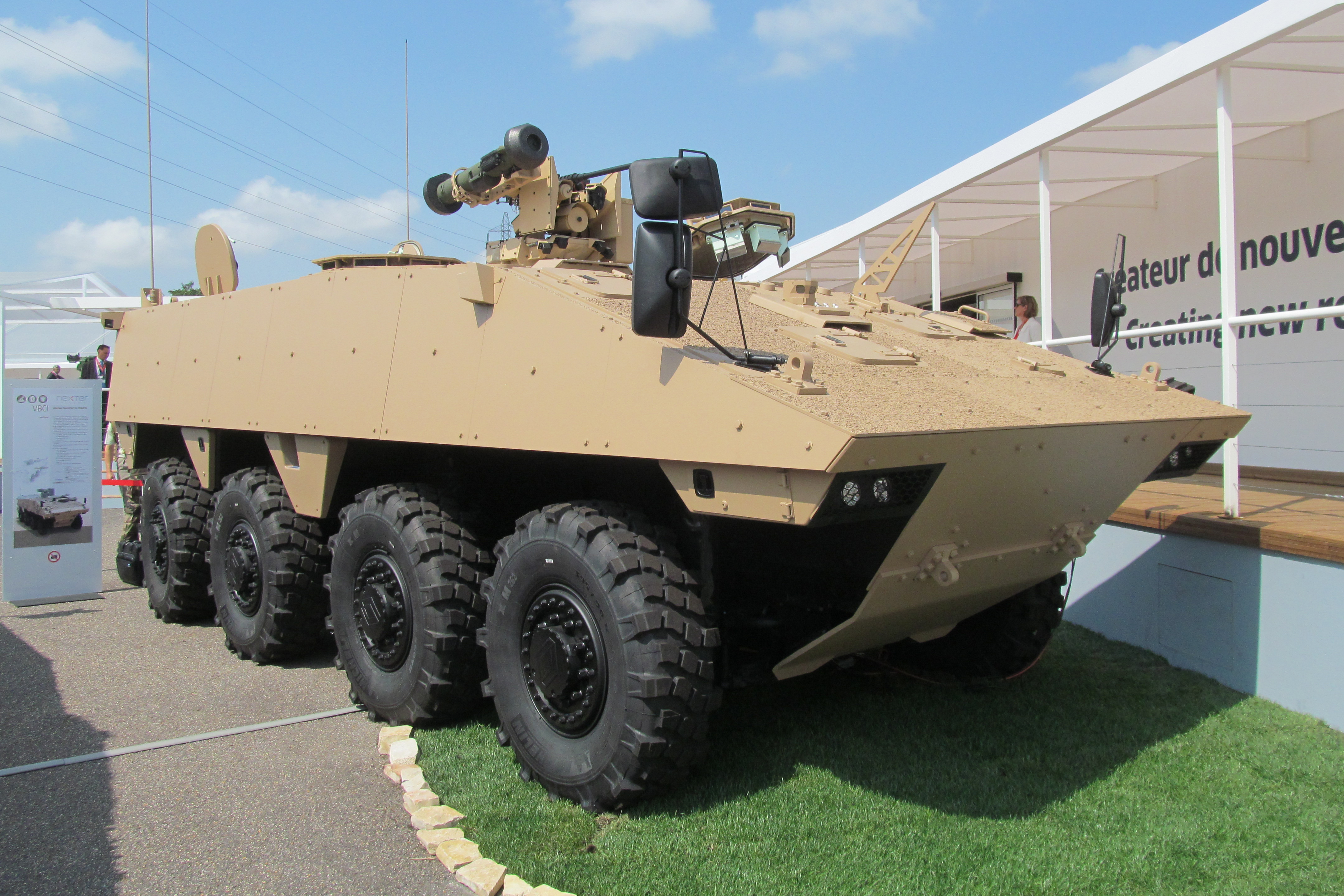 Eurosatory: Nexter modifies VBCI troop carrier