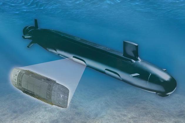 Northrop Grumman delivers submarine sensors