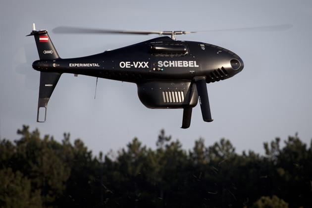S-100 UAV carries VQ-820-GU hydrographic sensor