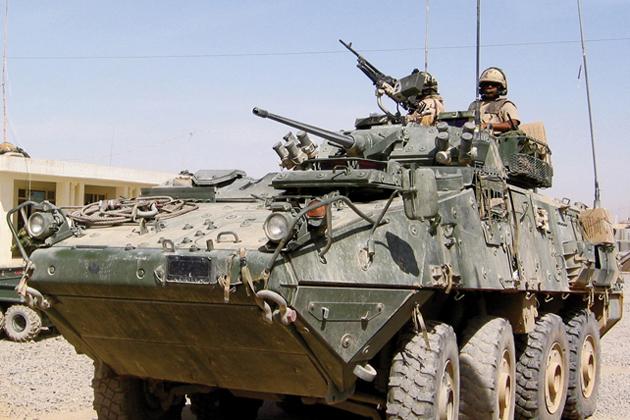 General Dynamics wins Canadian LAV III upgrade award