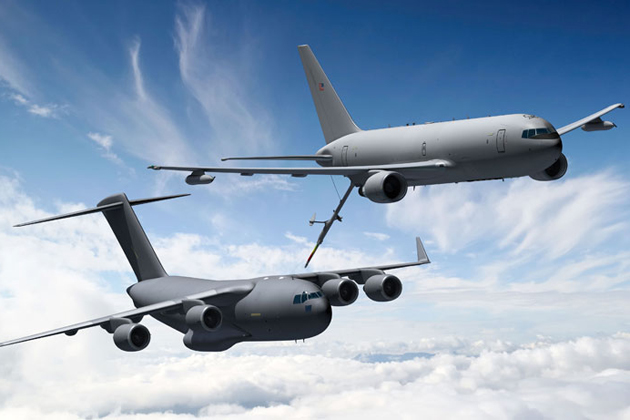 First PW4062 engines for KC-46 tanker delivered