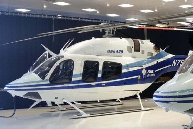 Aerolite delivers Bell 429 EMS interiors