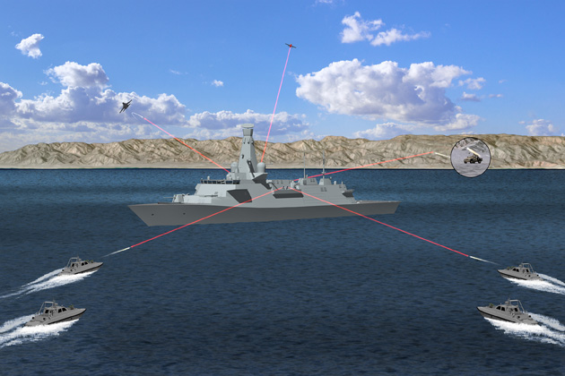 UK to assess laser weapon potential