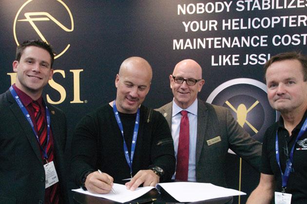 Helitech 2016: HeliAir Sweden gives nod to JSSI
