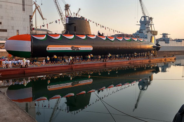 India launches second Scorpene