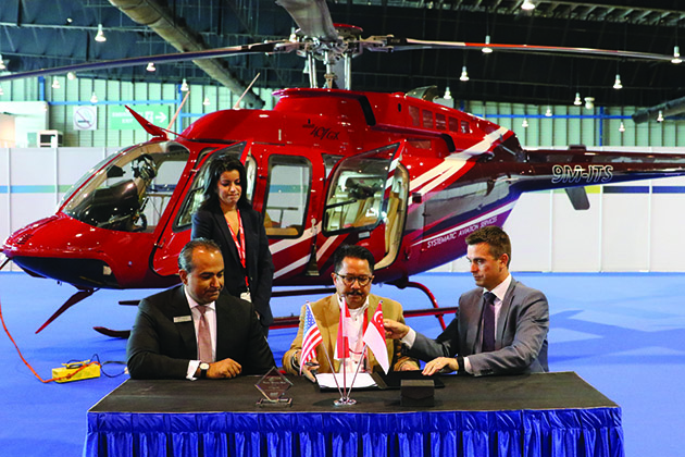Rotorcraft Asia: Bell Helicopter seals 407GXP deal