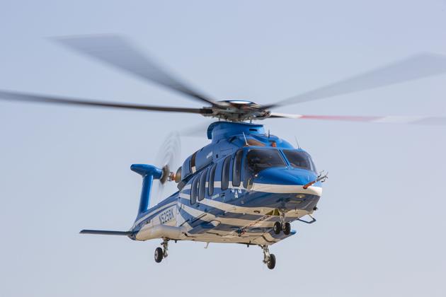 Bell 525 resumes flight testing