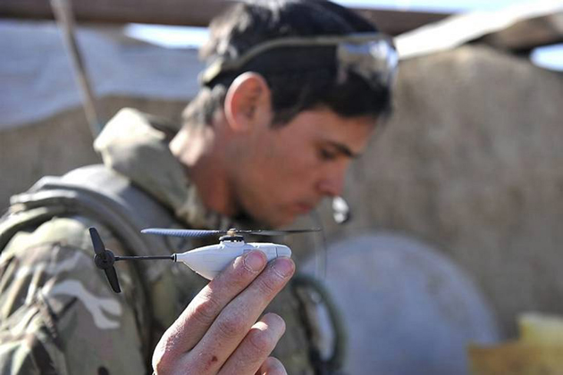British troops deploy Black Hornet nano UAV
