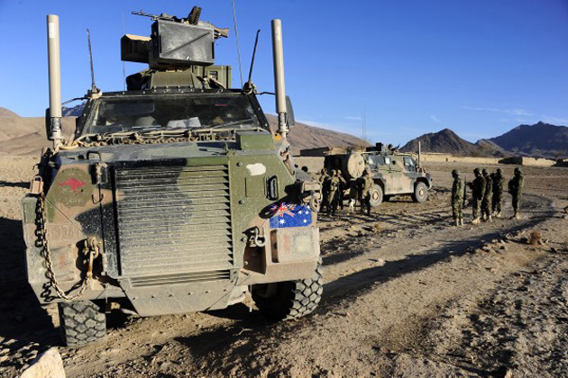 Australia presses for more Bushmaster vehicles