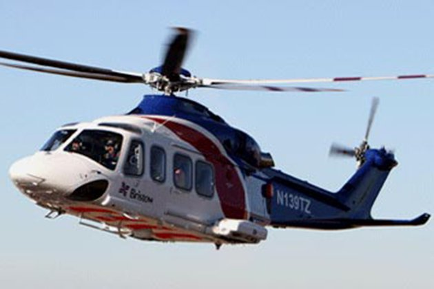 Bristow helicopter base construction begins