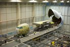 France's first A400M begins final assembly