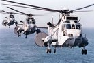 Royal Navy Sea Kings added to Olympic security build up