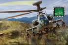 Apache controls Gray Eagle UAV