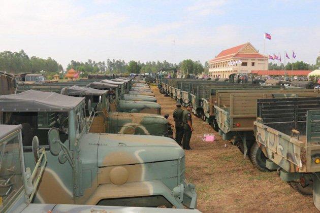 Cambodia receives donated Kia vehicles