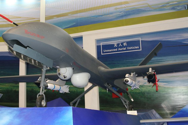 Saudi factory to churn out Chinese UCAVs