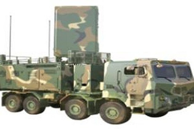 South Korea unveils artillery locating radar