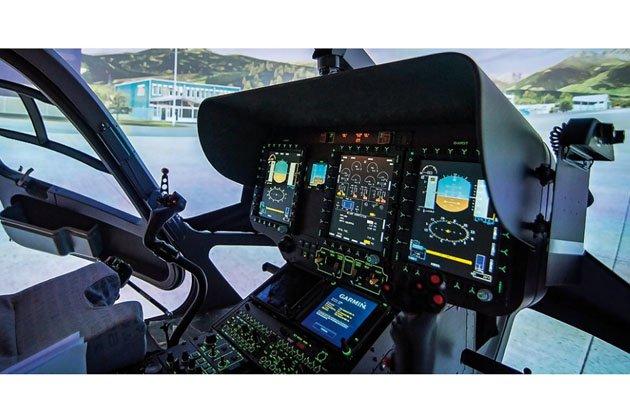 MilSim Asia: RST showcases H145 simulator