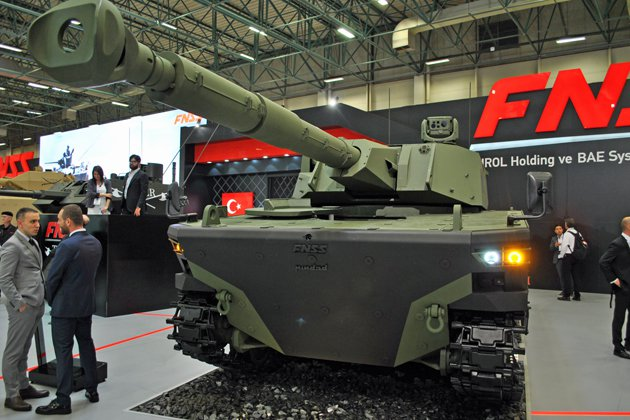 FNSS expands tracked vehicle range (video)