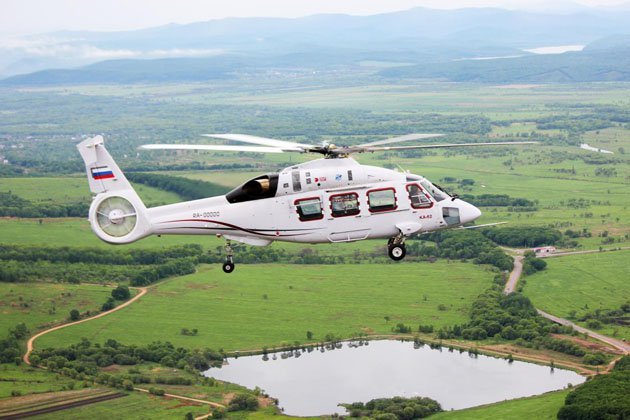 HeliRussia 2017: Ka-62 takes to the skies