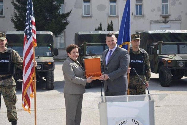 Bosnia receives HMMWVs from US government