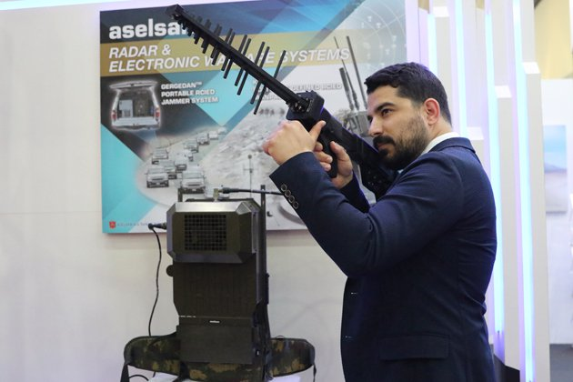 LIMA 2017: Aselsan unveils anti-UAV jammer