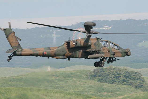 Japan modernises lasers on Apache tribe