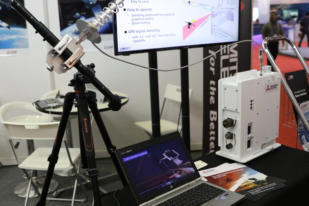 LIMA 2017: Mitsubishi delivers first anti-UAV system