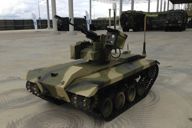 New UGV planned for Russian Army