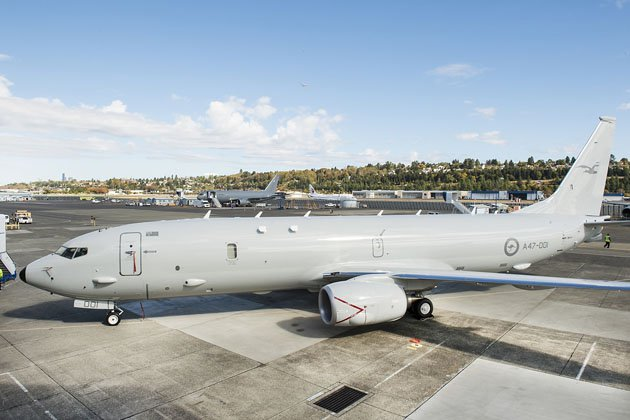 RAAF P-8A assists in civilian SAR mission