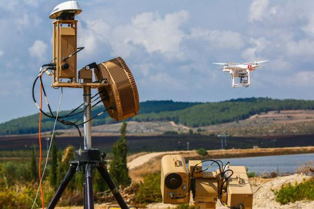 Paris Air Show: Rafael showcase Drone Dome laser capability