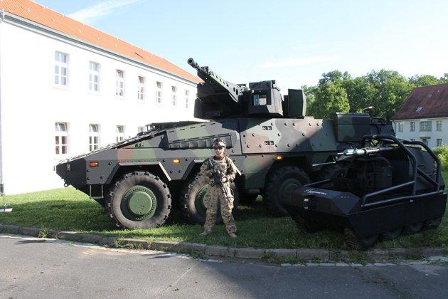 Rheinmetall unveils new Infantry System