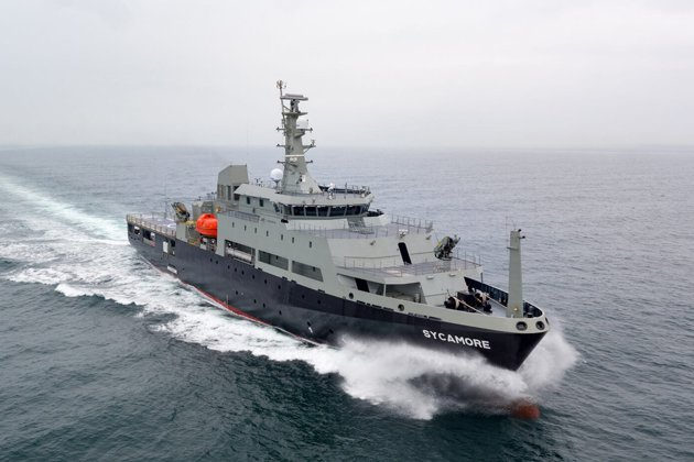 Future RAN training vessel completes sea trials