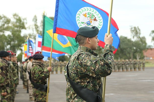 Special forces trigger Latin American exercise