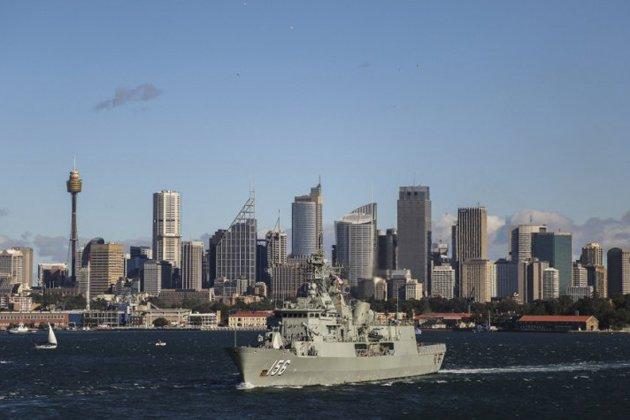 HMAS Toowoomba restocked for operations