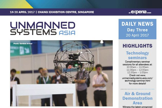 Unmanned Systems Asia 2017 Daily News - Day Three