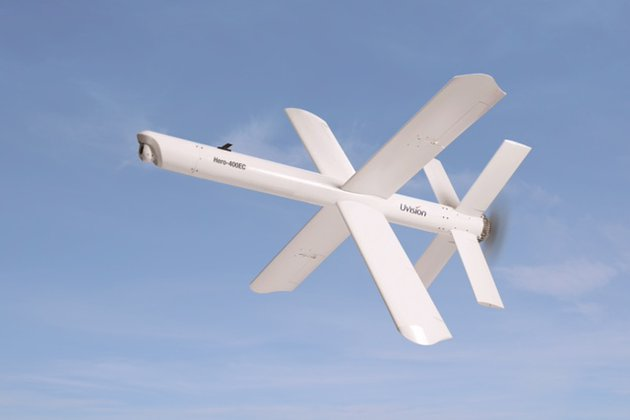 UVision unveils loitering munition system