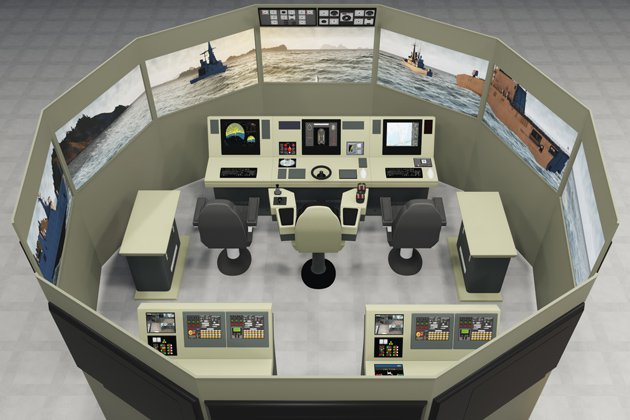 VSTEP, Damen partner for RBDF simulators