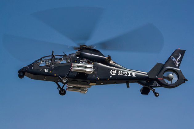 Z-19E undertakes maiden flight