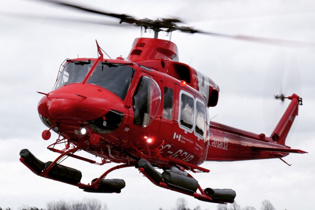 DART equipment for CCG helicopters